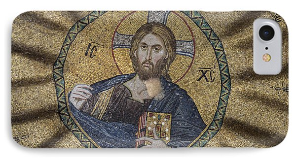 Christ Pantocrator Surrounded By The Prophets Of The Old Testament 1 Phone Case by Ayhan Altun