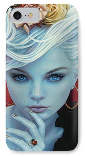 Christina The Astonishing IPhone Case by Vic Lee