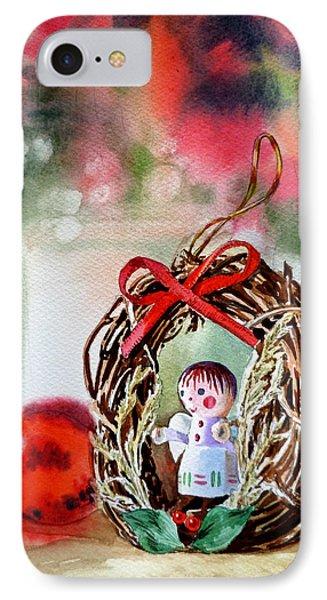 Christmas Angel Phone Case by Irina Sztukowski
