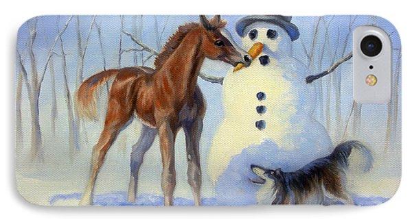 Christmas Bounty IPhone Case by Jeanne Newton Schoborg