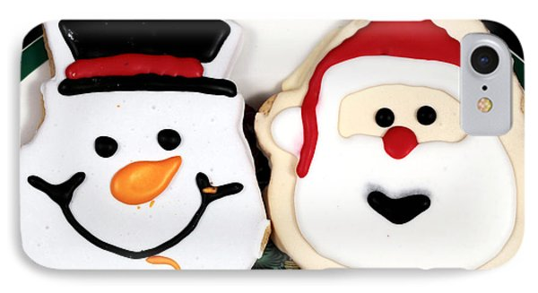 Christmas Cookies Phone Case by John Rizzuto