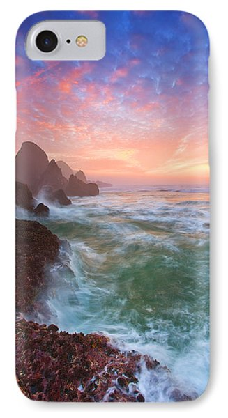 Christmas Eve Sunset Phone Case by Darren  White