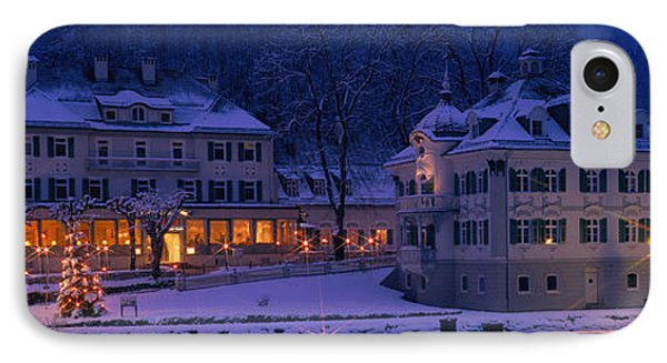 Christmas Lights, Hohen-schwangau IPhone Case by Panoramic Images