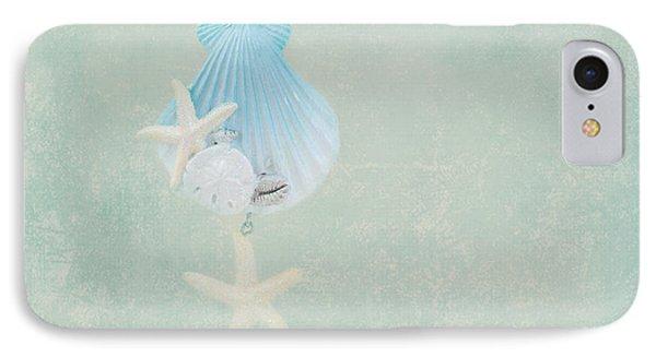 Christmas Starfish Phone Case by Kim Hojnacki