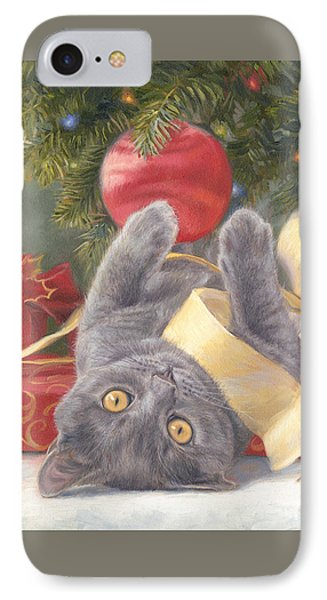 Christmas Surprise IPhone Case by Lucie Bilodeau
