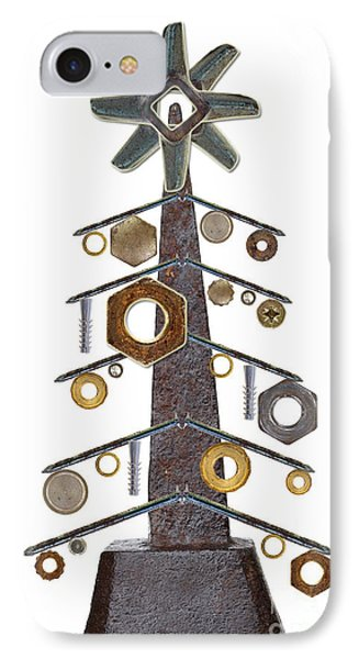 Christmas Tree IPhone Case by Michal Boubin