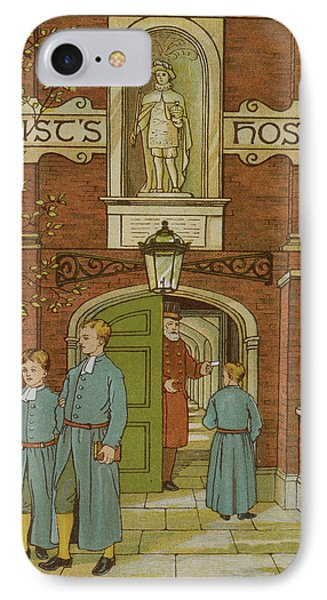 Christ's Hospital IPhone Case by British Library