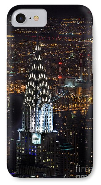 Chrysler Buiilding IPhone Case by John Farnan