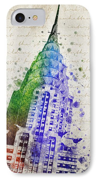 Chrysler Building IPhone Case by Aged Pixel