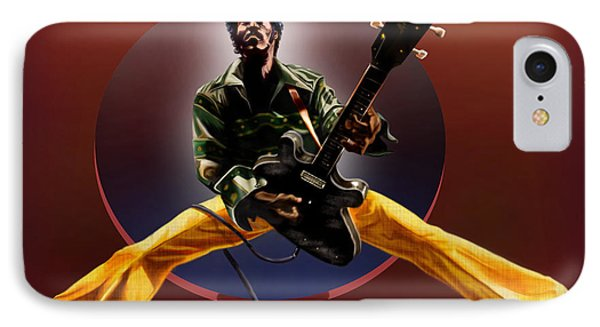 Chuck Berry - This Is How We Do It Phone Case by Reggie Duffie