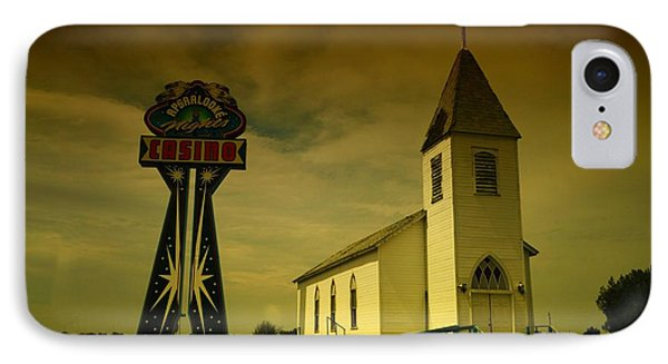 Church And Casino Those Two Angels  Phone Case by Jeff Swan