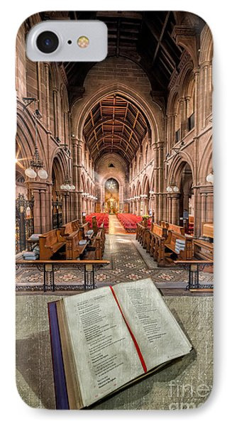 Church Bible IPhone Case by Adrian Evans
