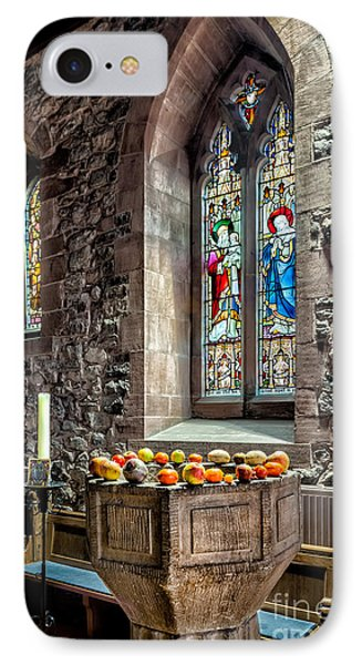 Church Fruits IPhone Case by Adrian Evans