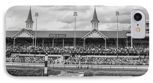 Churchill Downs And Twin Spires  IPhone Case by John McGraw