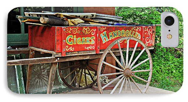 Cigar Wagon Phone Case by Marty Koch