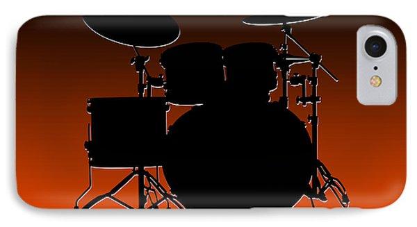 Cincinnati Bengals Drum Set IPhone 7 Case by Joe Hamilton