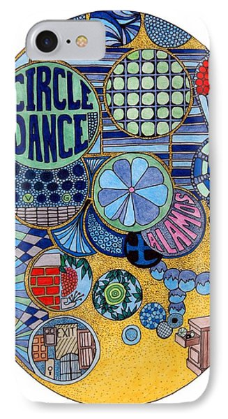 Circle Dance Phone Case by Gregory Carrico