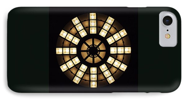 Circle In A Square IPhone Case by Rona Black