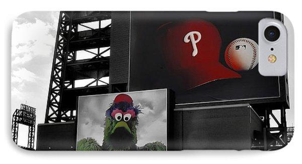 Citizens Bank Park Philadelphia IPhone Case by Bill Cannon