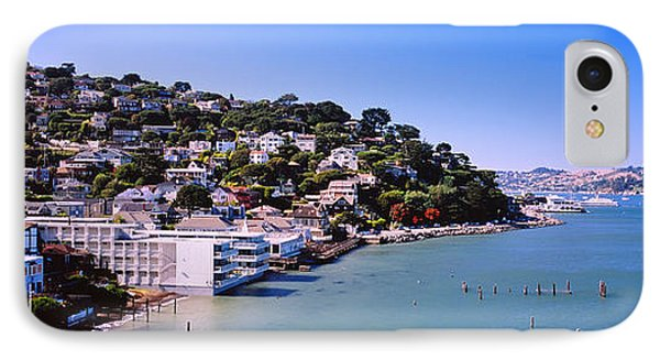 City At The Coast, Sausalito, Marin IPhone Case by Panoramic Images