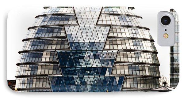 City Hall London Phone Case by Christi Kraft