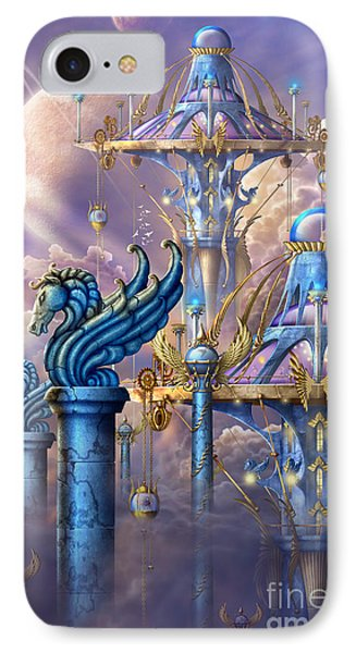 City Of Swords IPhone Case by Ciro Marchetti