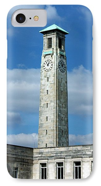 Civic Centre Southampton Phone Case by Terri Waters