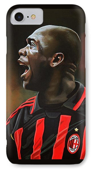 Clarence Seedorf IPhone Case by Paul Meijering