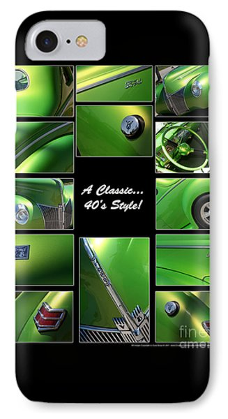 Classic 40s Style - Poster Phone Case by Gary Gingrich Galleries