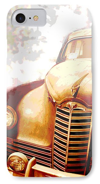 Classic Car 1940s Packard  IPhone Case by Ann Powell