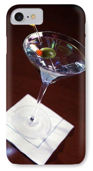 Classic Martini IPhone Case by Jon Neidert