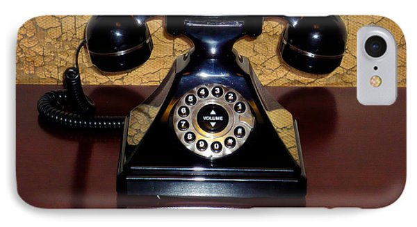 Classic Rotary Dial Telephone Phone Case by Mariola Bitner
