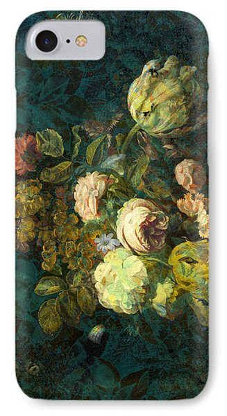 Classical Bouquet - S04bt01 IPhone Case by Variance Collections
