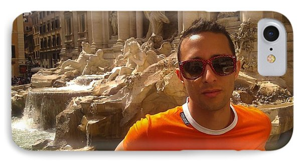 Claudio In Rome IPhone Case by Ted Williams