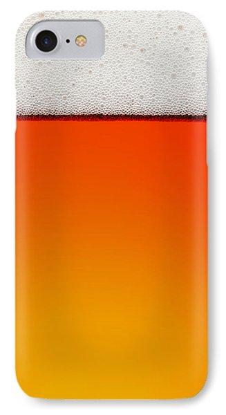 Clean Beer Background IPhone Case by Johan Swanepoel