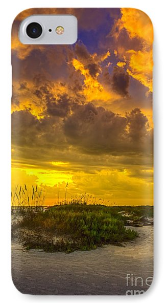 Clearing Skies IPhone Case by Marvin Spates