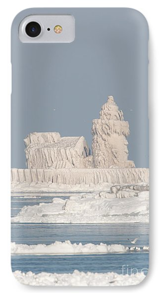 Cleveland Harbor West Pierhead Light IIi IPhone Case by Clarence Holmes