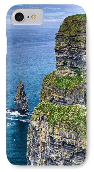 Cliffs Of Moher 41 Phone Case by Douglas Barnett