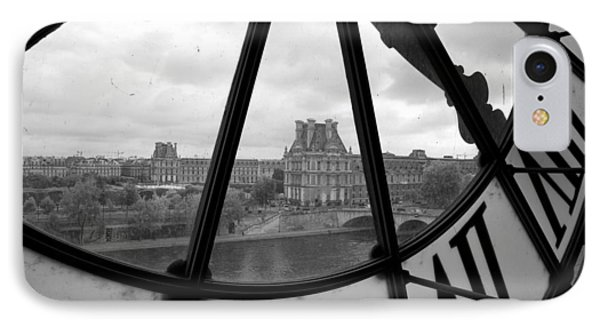 Clock At Musee D'orsay IPhone 7 Case by Chevy Fleet