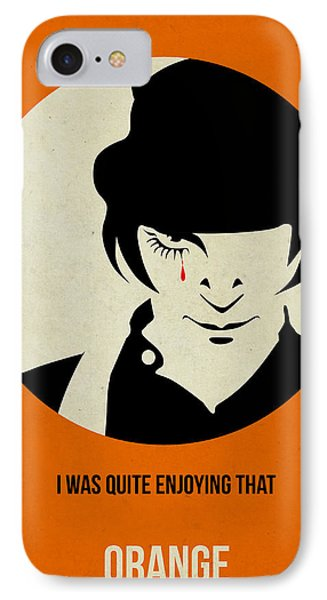 Clockwork Orange Poster IPhone Case by Naxart Studio