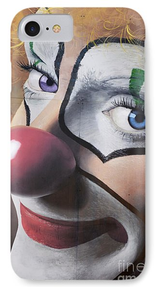 Clown Mural Phone Case by Bob Christopher