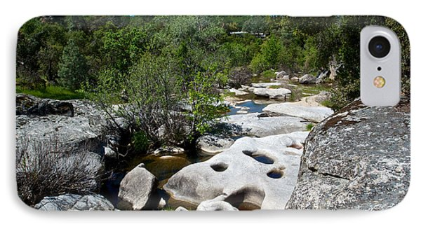 Coarsegold Creek Bed In Park Sierra-ca IPhone Case by Ruth Hager