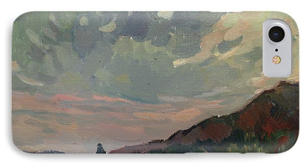 Coast At Sunset Phone Case by Juliya Zhukova