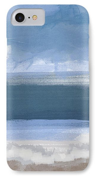 Coastal- Abstract Landscape Painting IPhone Case by Linda Woods