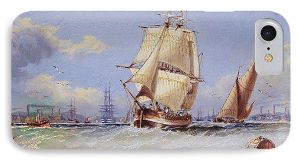 Coastal Scene IPhone Case by Edward Gentle