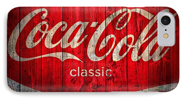Coca Cola Barn IPhone Case by Dan Sproul