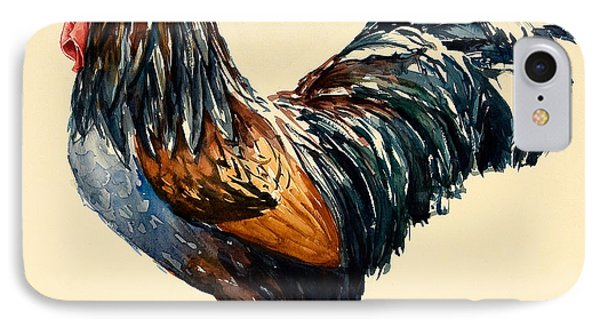 Cockerel IPhone 7 Case by Alison Cooper