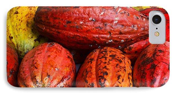 Cocoa Pods Phone Case by Pravine Chester