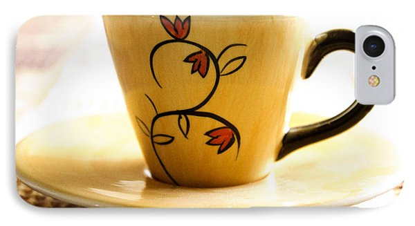 Coffee Cup IPhone Case by Blink Images