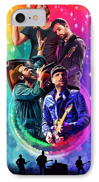 Coldplay Mylo Xyloto IPhone 7 Case by FHT Designs